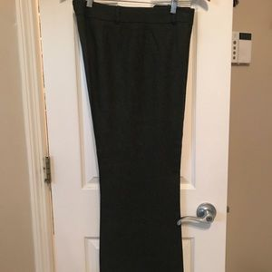 Loft trouser wide leg pants